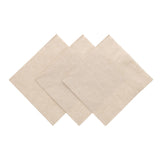 NAPKIN BEVERAGE 1 PLY KRAFT 254 mm X 254 mm, Case of 1000