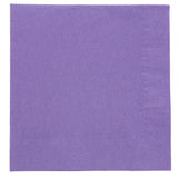 NAPKIN BEVERAGE 2 PLY PURPLE 254 mm X 254 mm, Case of 1000