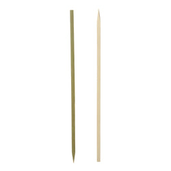 254 mm FLAT BAMBOO SKEWER, 6 packs of 500