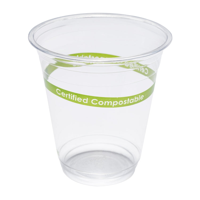355ml-CLEAR PLA CUP-COMPOSTABLE, Case of 1000