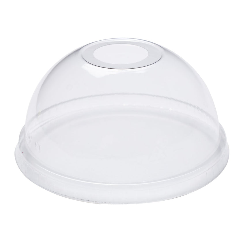 355 ml -710 ml CLEAR PLA DOME LID-COMPOSTABLE, Case of 1000