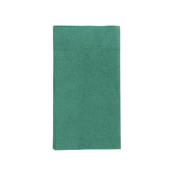 NAPKIN DINNER 2 PLY DARK GREEN  381 mm X 431 mm, Case of 1000