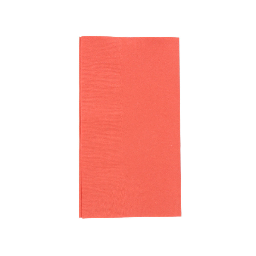 NAPKIN DINNER 2 PLY RED 381 mm  X 461 mm, Case of 1000