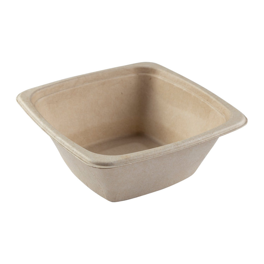 SQUARE TAN BOWL-945 mm, Case of 300