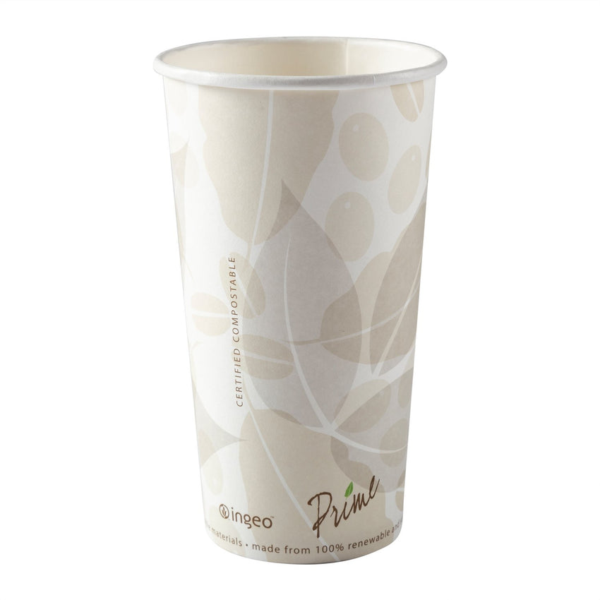 590 ml-COMPOSTABLE-PLA LINED CUP, Case of 1000