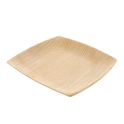 152 mm SQUARE PALM LEAF COCKTAIL PLATE, 4/25