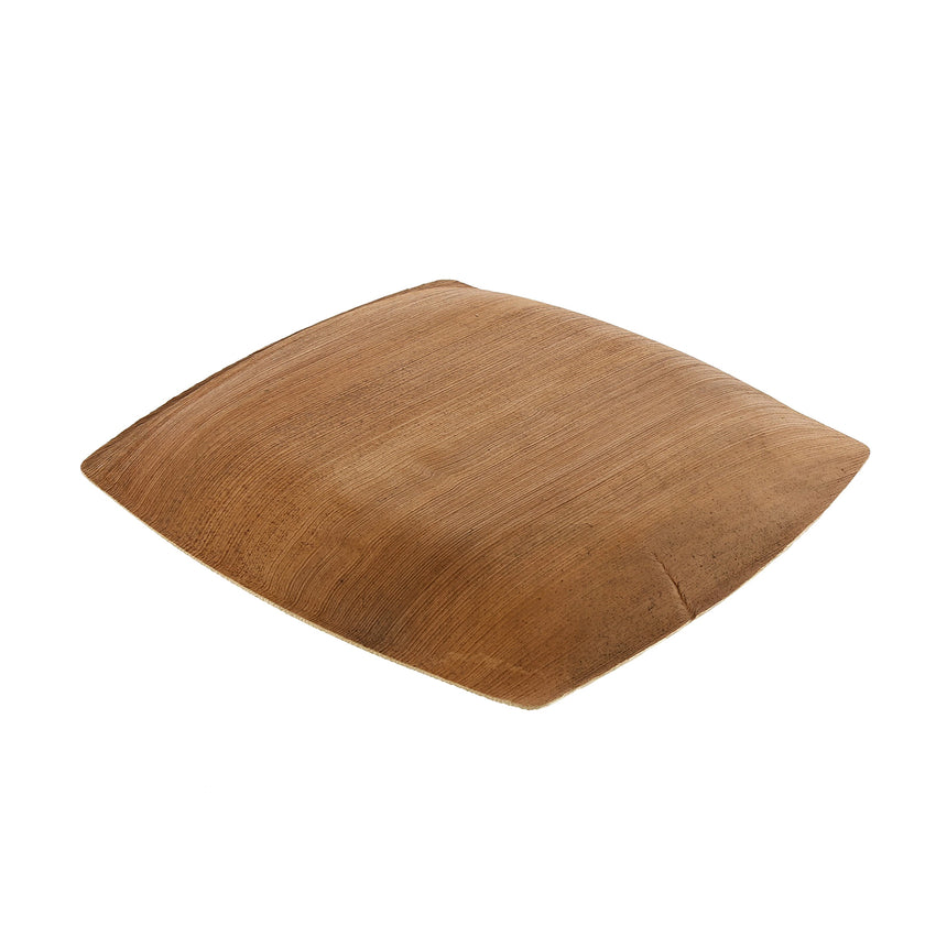 203 mm SQUARE PALM LEAF PLATE, Case of 100