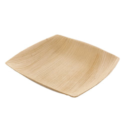 203 mm DEEP SQUARE PALM LEAF PLATE, Case of 100