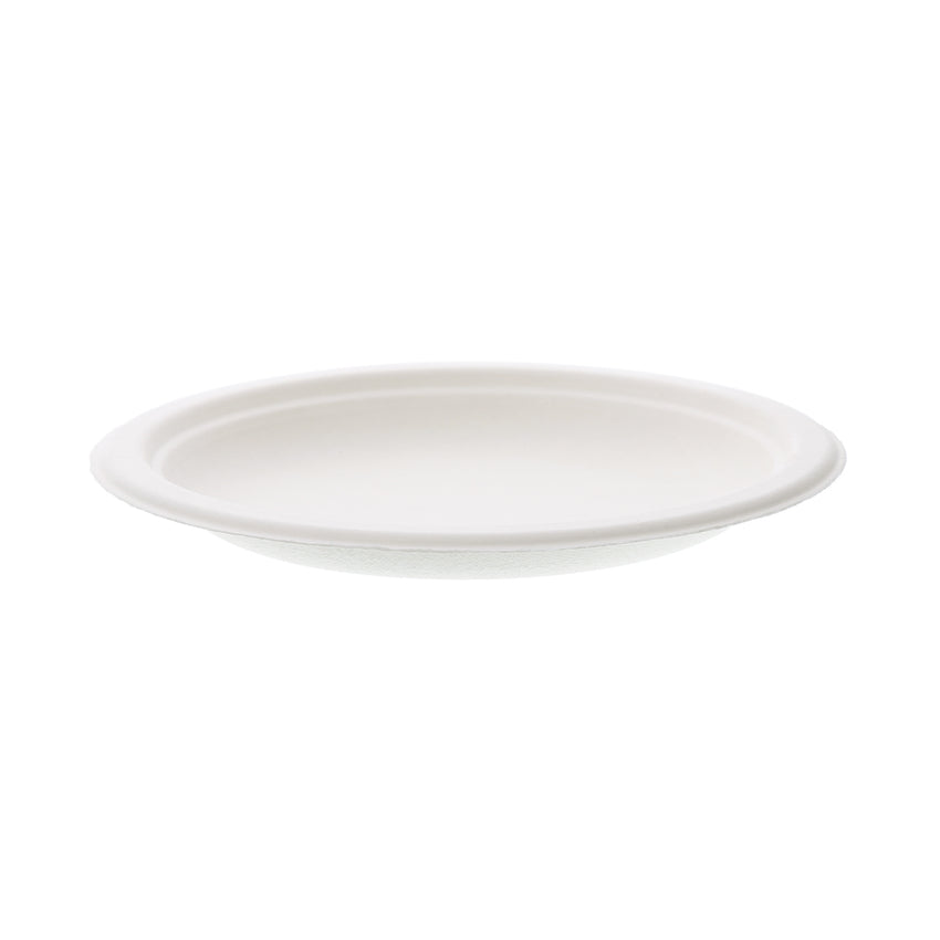 SUGARCANE (BAGASSE) PLATES ROUND 152 mm, Case of 1000