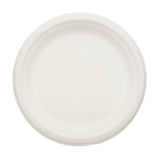 SUGARCANE (BAGASSE) PLATES ROUND 228 mm, Case of 500