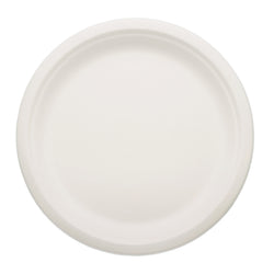 SUGARCANE (BAGASSE) PLATES ROUND 254 mm Case of 500