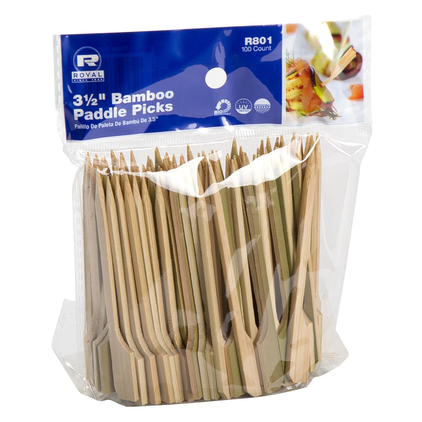 90 mm BAMBOO PADDLE PICK, Case of 1000
