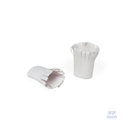 WHITE PAPER CHOPHOLDERS, Case of 2500