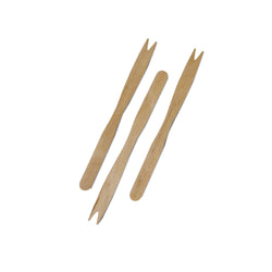 140 mm TWO PRONG WOOD FORK, 10/1000