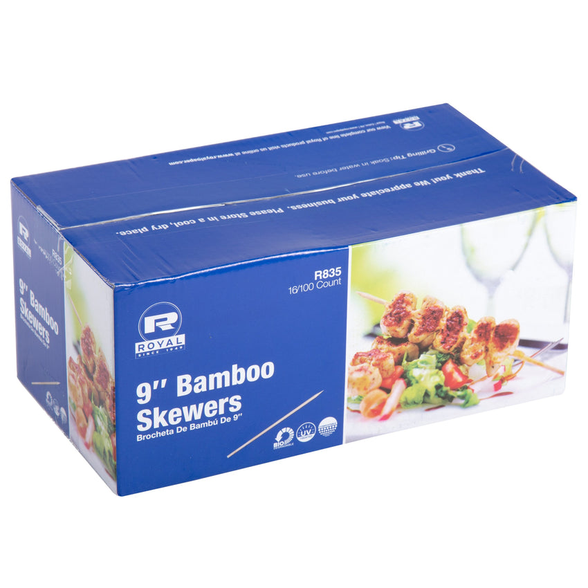 228 mm BAMBOO SKEWER, Case of 19,200