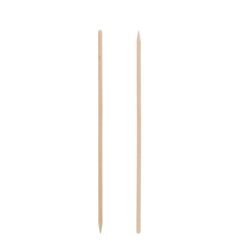 150 mm WOODEN SKEWER WITH CHAMFER, Case of 15,000