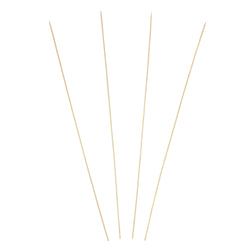915 mm BAMBOO SKEWER ROUND, SEMI-POINT, 5MM DIA., Case of 1000
