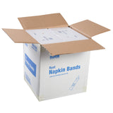 RUST NAPKIN BANDS, Case of 20,000