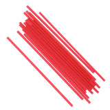 130 mm RED SIP STRAW INNER BAGS, CASE OF 10,000