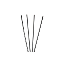 130 mm BLACK SIP STRAW INNER BOX, 10 packs of 1000