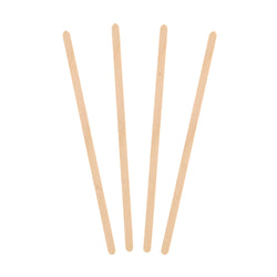 177 mm WOOD STIR STICKS, 10 packs of 1000