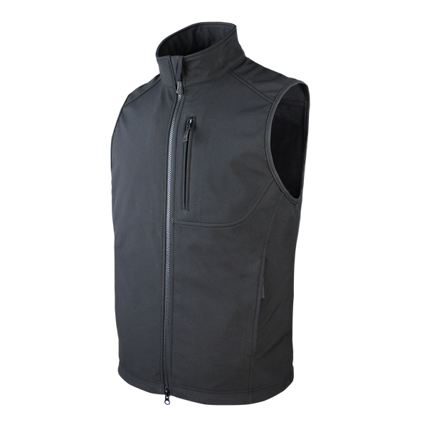 Condor Core Softshell Vest - Black
