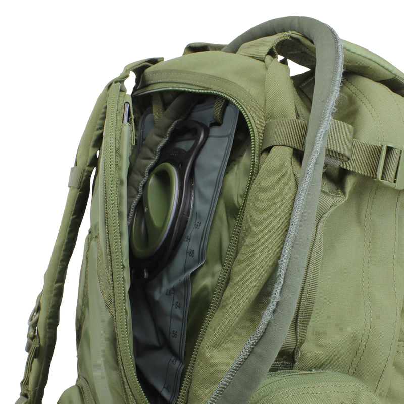 Condor 3-Day Assault Pack OD Green Bladder | Mars Gear