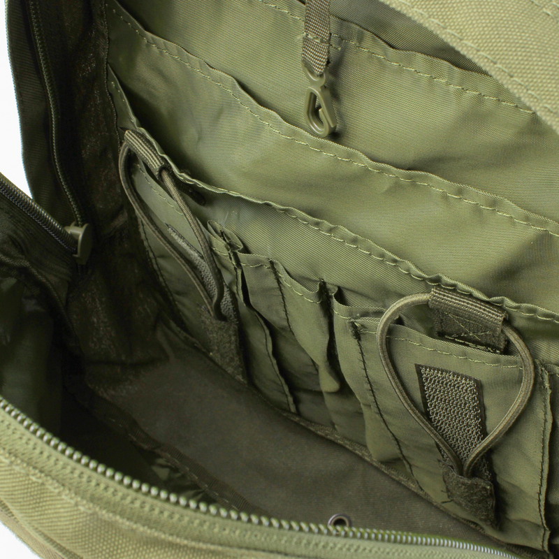 Condor 3-Day Assault Pack OD Green Organization | Mars Gear