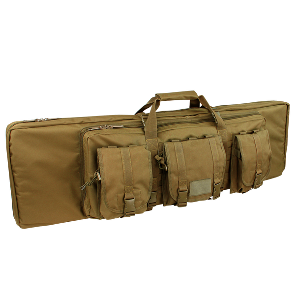 "Condor 36"" Double Rifle Case Coyote Brown 