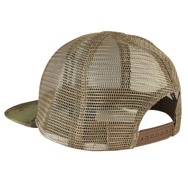 Condor Flat Bill Trucker Hat - MultiCam
