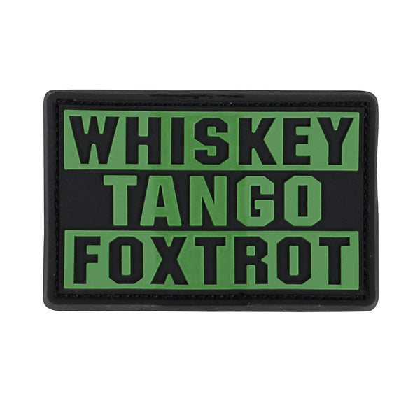 Condor Whiskey Foxtrot Tango Patch