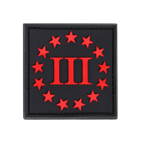 Condor PVC 3-Percenter Morale Patch