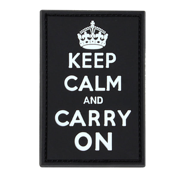 Condor Keep Calm & Carry On PVC Patch