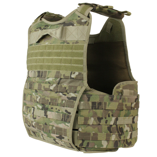 Condor Enforcer Releasable Plate Carrier - MultiCam