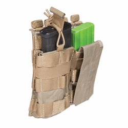 5.11 Tactical Double AR Mag Pouch w/ Bungee & Cover | Mars Gear