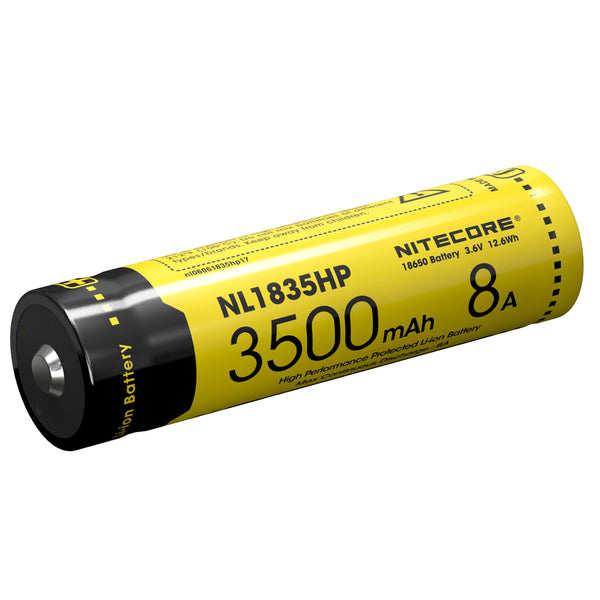 Nitecore 1835HP 3500mAH Li-ion 18650 Rechargeable Battery