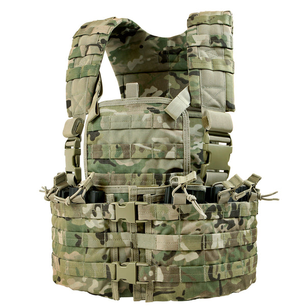 CLEARANCE: Condor Modular Chest Set - Multicam