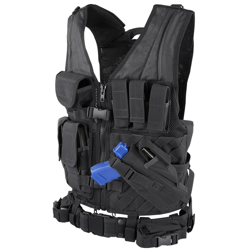 Condor Cross Draw Vest