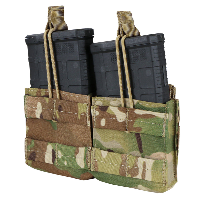 Condor Double Open Top M14 Mag Pouch - Multicam