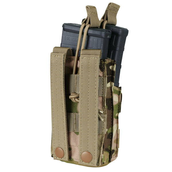 Condor Single Stacker M4 Open-Top Mag Pouch with MultiCam