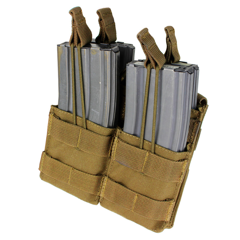 Condor Double Stacker M4 Open-Top  Mag Pouch