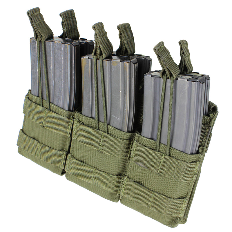 Condor Triple Stacker M4 Open-Top Mag Pouch
