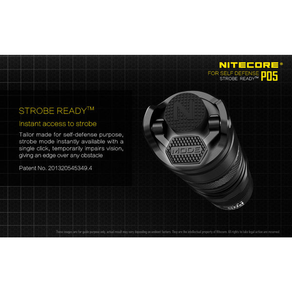 Nitecore P05 Tactical Compact LED Flashlight