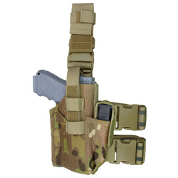 Condor Tactical Drop Leg Holster with MultiCam