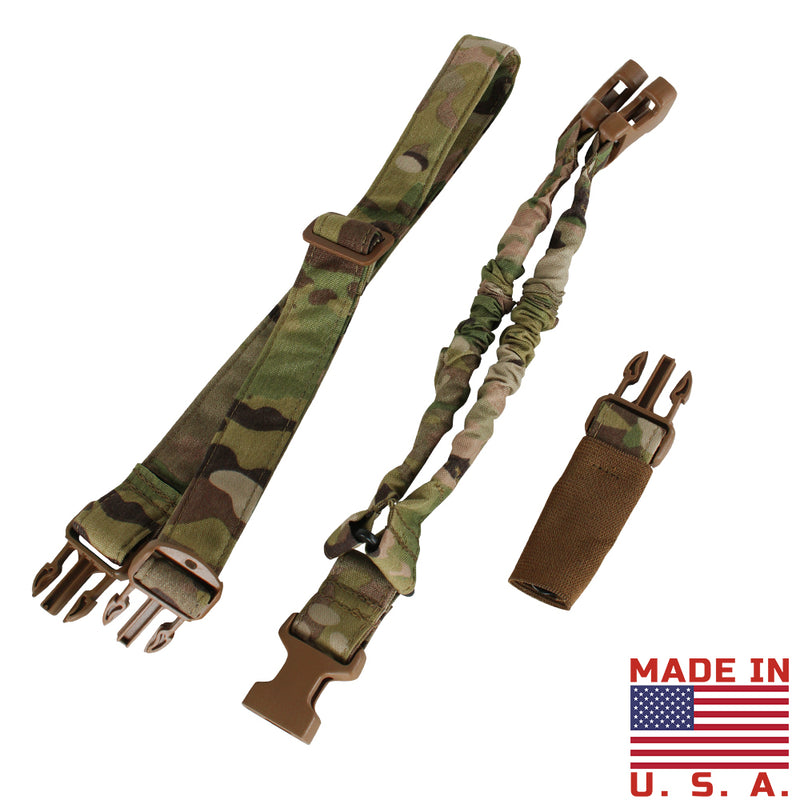 Condor Cobra One Point Bungee Sling -  MultiCam