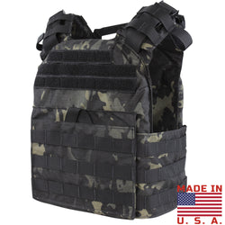 Condor Cyclone Lightweight Plate Carrier - MultiCam Black