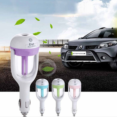 2-IN-1 Car Air Humidifier & Aromatherapy Essential Oil Diffuser
