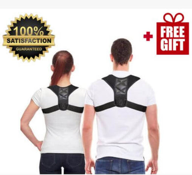 AccuBack Posture Corrector + Free Gift