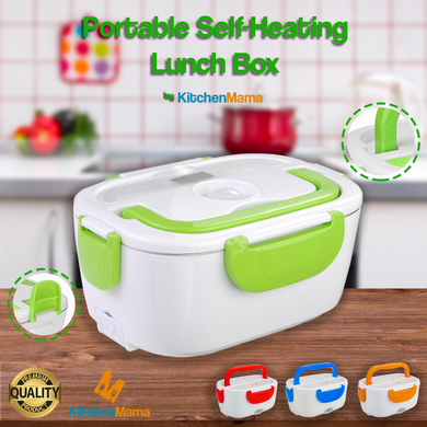 Portable Self-Heating Lunch Box by Kitchen Mama