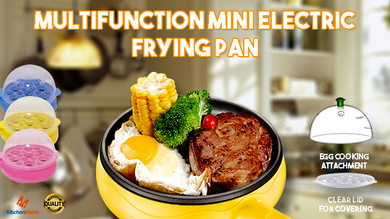 3-in-1 Electric Frying Pan by Kitchen Mama